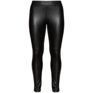 e6e172f9ca9 Ashley Stewart Pants - ASHLEY STEWART Faux Leather Leggings-14 16
